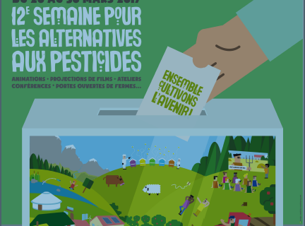 Journée des alternatives aux pesticides – Samedi 25 mars -Place d'Erlon